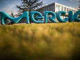 Merck-Zentrale in Darmstadt.