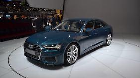 Der Audi A6 ist eher eine Limousine aus dem Bilderbuch denn ein Coupé.