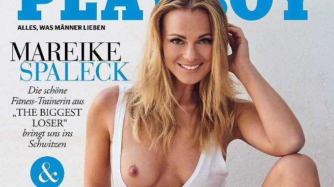 """Mareike Spaleck soll die """"Playboy""""-Leser """"ins Schwitzen"""" bringen."""
