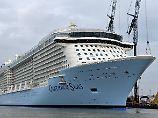 Umweltverschmutzung trübt Rekord: Nabu will Hafenverbot für Kreuzfahrtriesen