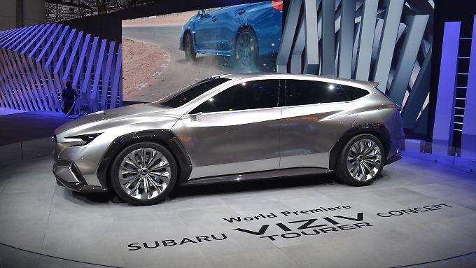 Der Subaru Viziv Tourer könnte der neue Levorq sein. Sieht echt schick aus.