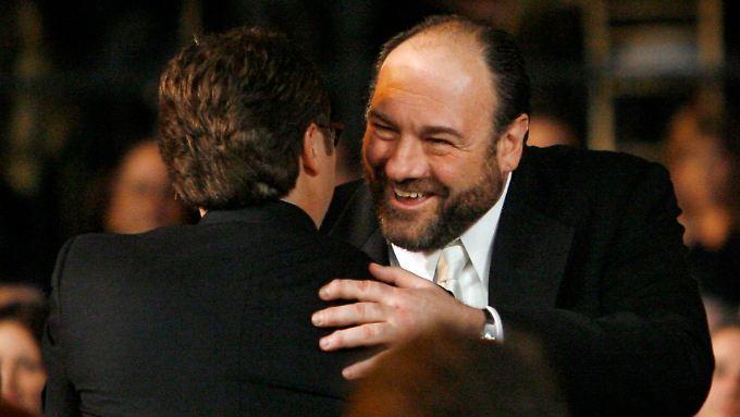 """James Gandolfini, Star der TV-Serie """"Die Sopranos"""", starb 2013."""