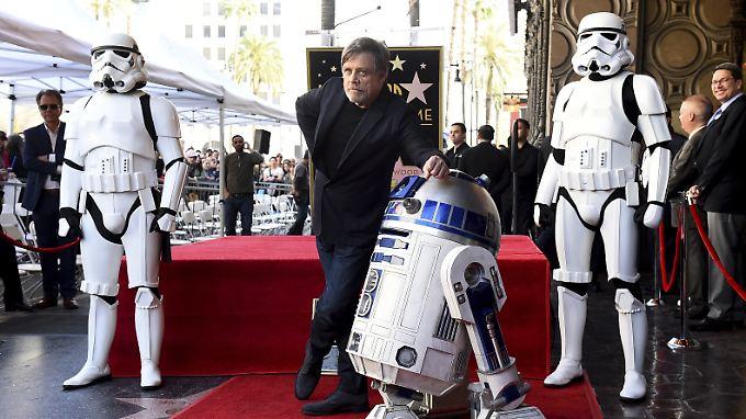 Luke Skywalker auf dem Hollywood Walk of Fame: Mark Hamill mit eigenem Stern geehrt.