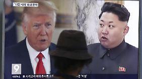 Erleichterung in Südkorea: Trump nimmt Kims Einladung an