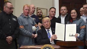 Stahl- und Aluminium-Handelskrieg: US-Strafzölle gefährden deutsche Arbeitsplätze