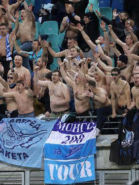 Apropos Party: Den Fans aus St. Petersburg scheint es auch gefallen zu haben.