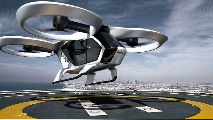 """Der """"CityAirbus"""" soll bis Ende 2018 erstmals abheben."""
