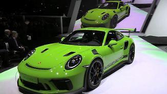 Rundgang auf dem Genfer Autosalon: VW setzt auf Diesel, Porsche auf Batterien