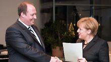 Helge Braun bei seiner Ernennung zum Staatsminister nach der Wahl 2013.