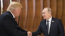 """Russland-Präsident voll des Lobs: Putin über Trump: """"Er lernt schnell"""""""