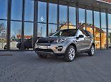 Der Land Rover Discovery Sport macht auf allen Wegen eine gute Figur.