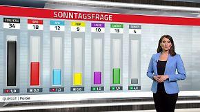 Nahles erreicht nächstes Umfragetief: Neue GroKo lässt Wähler abwarten