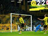 Siegtreffer in der Nachspielzeit: Batshuayi rettet Dortmund gegen Frankfurt