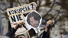 Slowakischer Journalistenmord: Beschuldigter Innenminister tritt zurück