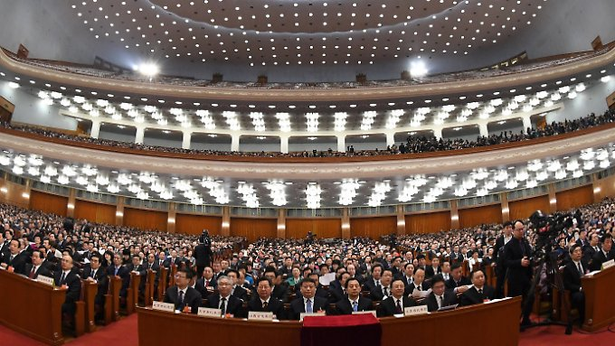 Wichtige Weichenstellungen auf dem Nationalen Volkskongress in Peking.