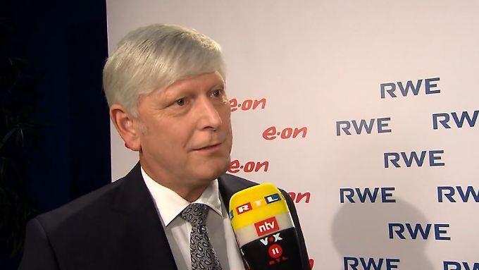 """RWE-Chef Schmitz zum Strom-Deal: """"Wir sehen keine Risiken"""""""