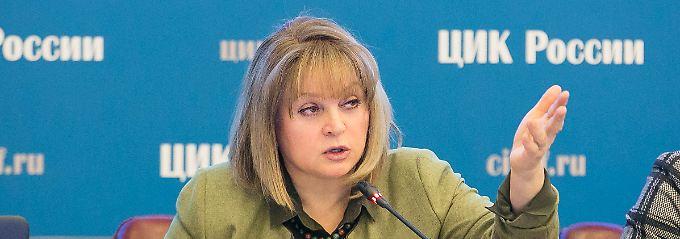 """""""Ich schwöre, dass es vom Kreml keine Vorgabe gegeben hat"""": Ella Pamfilowa."""