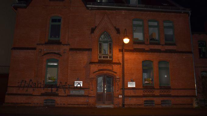 Eines der Ziele der unbekannten Täter war die CDU-Kreiszentrale in Celle.