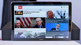 Das Huawei Mediapad M5 hat ein 10,8-Zoll-Display.
