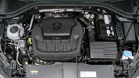 Außer dem 190-PS-Motor gibt es für den VW T-Roc weitere Benziner mit 150 und 115 PS.