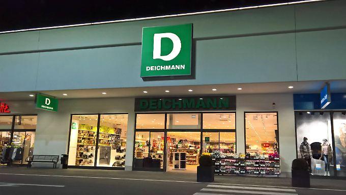 Allein in Deutschland sind 33 neue Deichmann-Filialen in der Planung.