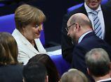 Die vierte Amtszeit hat begonnen: 35 Stimmen fehlen bei Merkels Wahl