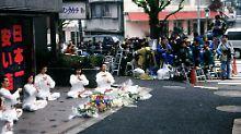 Sekte verübte Giftgasangriff: Japan bereitet Hinrichtungen vor