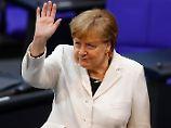 Hängepartie, aber kein Drama: Merkel stolpert ins letzte Gefecht