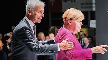 """Zehn Millionen Euro für den Chef: VW-Gehälter """"erstaunen"""" Merkel"""