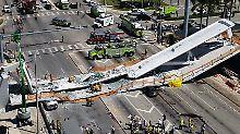 Zwei Tage vor Einsturz in Miami: Chefingenieur warnte vor Brückenrissen
