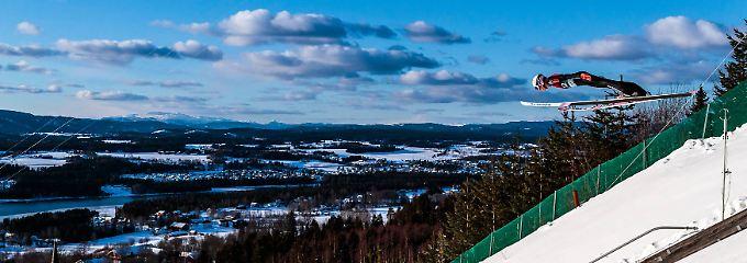"""""""Eine Riesenpackung"""": DSV-Adler flattern, Norwegen siegt irrwitzig"""