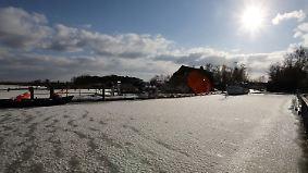 Zweistellige Minustemperaturen: Der kältesten Nacht der Woche folgt viel Sonne