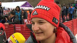 """Slalom-Gold für Anna-Lena Forster: """"Bin froh, dass sich das alles ausgezahlt hat"""""""
