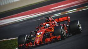 Ab kommenden Sonntag gehen Sebastian Vettel und Co wieder auf die Rennstrecke.