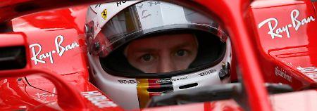 Immerhin: Sebastian Vettel fährt mutmaßlich um den Titel mit.