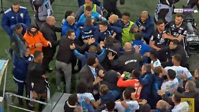 Nächster Gegner von Leipzig: Franzözisches Derby eskaliert nach Abpfiff