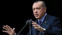 """Vorgehen Israels in der Kritik: Erdogan spricht von """"Genozid"""""""