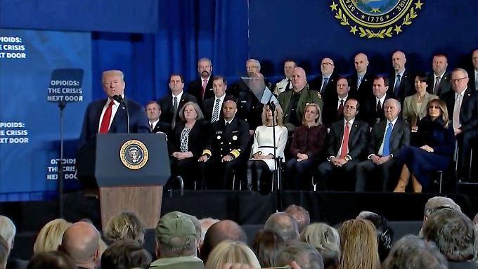 Drogen-Epidemie und Wahlkampf: Trump plant Todesstrafe für Dealer