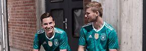 Etwas weniger cool: Julian Draxler und Timo Werner.