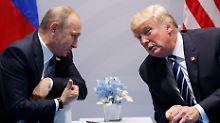 """""""Probleme überwinden"""": Putin und Trump erwägen Gipfeltreffen"""