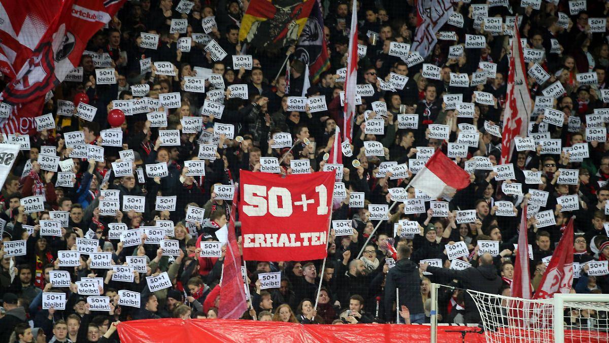 Fußballer gegen Investoren: Profiklubs halten an 50+1-Regel fest