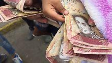 Drei Nullen müssen weg: Maduro kündigt neues Zahlungsmittel an
