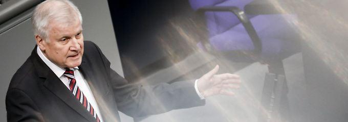 Innenminister präsentiert Agenda: Seehofer kündigt Null-Toleranz-Politik an