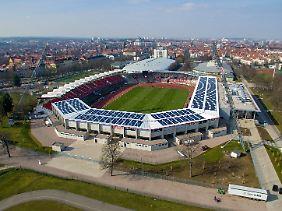 Das Erfurter Steigerwaldstadion wurde zu einer modernen Multifunktionsarena umgebaut.