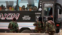 Syriens Regierung auf Vormarsch: Hunderte Rebellen verlassen Ost-Ghuta