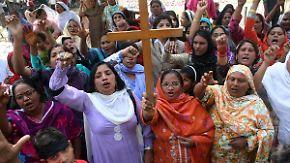 Systematische Verfolgung in Pakistan: Blasphemiegesetz lässt Christen um ihr Leben fürchten