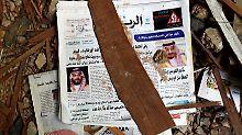Trümmerteile töten einen Mann: Saudi-Arabien fängt Raketen über Riad ab