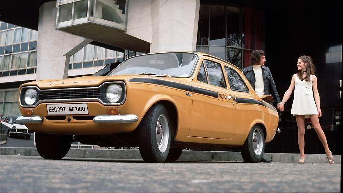 Vor 50 Jahren konnte sich der Ford Escort problemlos mit Opel und VW messen.