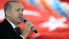 Der türkische Präsident Recep Tayyip Erdogan hält am Ziel eines EU-Beitritts seines Landes fest.