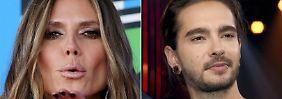 Heidis Next Top-Bubi: Die Klum knutscht mit Tom Kaulitz